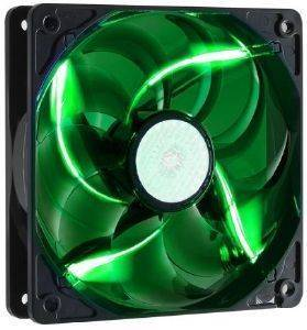 COOLERMASTER SICKLEFLOW 120MM GREEN LED FAN