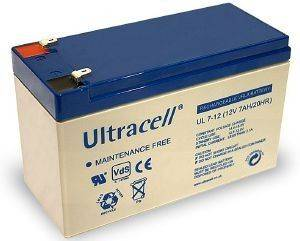 ULTRACELL UL7-12 12V/7AH REPLACEMENT BATTERY