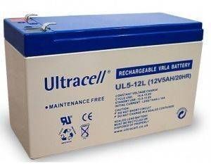 ULTRACELL UL5-12L 12V/5AH REPLACEMENT BATTERY