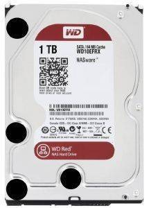 WESTERN DIGITAL WD10EFRX 1TB RED NAS SATA3