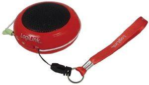 LOGILINK SP0015 MINI HAMBURGER SPEAKER RED