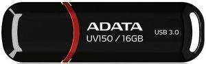 ADATA DASHDRIVE UV150 16GB USB3.0 FLASH DRIVE BLACK