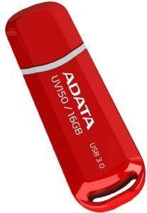 ADATA DASHDRIVE UV150 16GB USB3.0 FLASH DRIVE RED