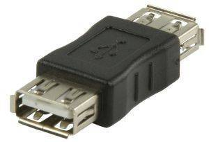 VALUELINE VLCP60900B USB A FEMALE - USB A FEMALE USB2.0 ADAPTER