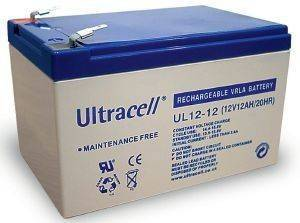 ULTRACELL UL12-12 12V/12AH REPLACEMENT BATTERY
