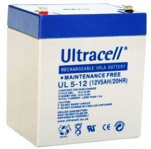 ULTRACELL UL5-12 12V 5AH REPLACEMENT BATTERY