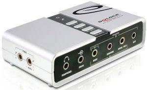 DELOCK 61803 USB SOUND BOX 7.1