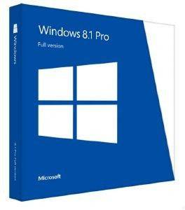 MICROSOFT WINDOWS PRO 8.1 32-BIT ENGLISH DSP
