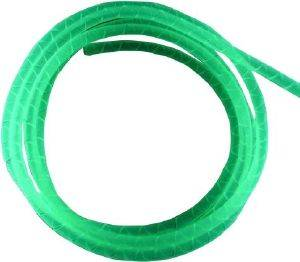 BITSPOWER SPIRAL CABLE HOUSING 4MM 1M UV GREEN