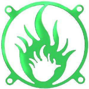 BITSPOWER FAN GRID FIRE UV GREEN