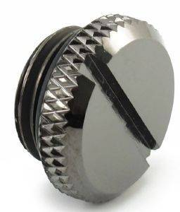 XSPC PLUGS 1/4 INCH - BLACK CHROME