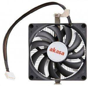 AKASA AK-CC1101EP02 LOW PROFILE CPU COOLER FOR AMD 80MM PWM FAN