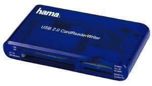 HAMA 55348 CARD READER/WRITER 35IN1 USB2.0 BLUE