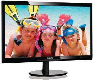 PHILIPS 246V5LSB 24'' LCD MONITOR FULL HD BLACK