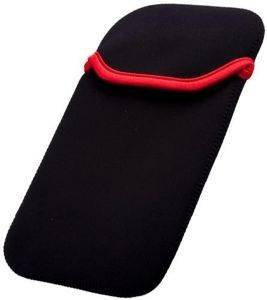 GREENGO NEOPREN CASE FOR 10'' TABLETS BLACK/RED