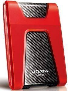 ADATA DASHDRIVE DURABLE HD650 1TB USB3.0 RED