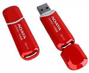 ADATA DASHDRIVE UV150 64GB USB3.0 FLASH DRIVE RED
