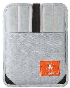 CRUMPLER SOFTCASE WEBSTER SLEEVE FOR LAPTOP 13'' METALLIC SILVER