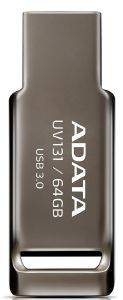 ADATA UV131 64GB USB3.0 FLASH DRIVE GREY