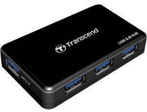 TRANSCEND TS-HUB3K 4-PORT USB3.0 HUB BLACK