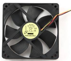GEMBIRD FANCASE3/BALL FAN FOR PC CASE BALL BEARING 120MM