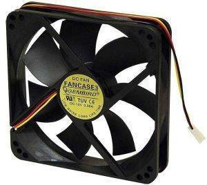 GEMBIRD FANCASE2/BALL FAN FOR PC CASE BALL BEARING 90MM
