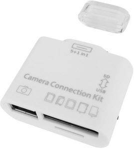 EAXUS CAMERA KIT FOR IPAD 2/3 USB + CARD READER