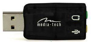 MEDIA-TECH MT5101 VIRTUAL 5.1 USB SOUNDCARD