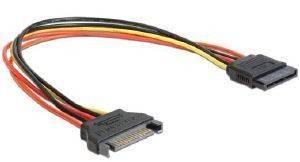 GEMBIRD CC-SATAMF-01 SATA POWER EXTENTION CABLE 0.3M