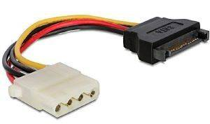 GEMBIRD CC-SATA-PS-M SATA MALE TO MOLEX FEMALE POWER CABLE 0.15M