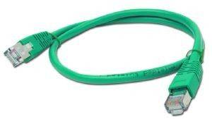 CABLEXPERT PP6-0.5M/G GREEN PATCH CORD CAT6 MOLDED STRAIN RELIEF 50U PLUGS 0.5M