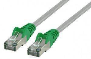 VALUELINE VLCP85150E3.00 FTP CAT5E CROSS NETWORK CABLE 3M GREY/GREEN