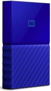 ΕΞΩΤΕΡΙΚΟΣ ΣΚΛΗΡΟΣ WESTERN DIGITAL NEW! WDBYNN0010BBL MY PASSPORT 1TB USB3.0 BLUE
