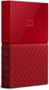 ΕΞΩΤΕΡΙΚΟΣ ΣΚΛΗΡΟΣ WESTERN DIGITAL NEW! WDBYNN0010BRD MY PASSPORT 1TB USB3.0 RED