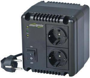 ENERGENIE EG-AVR-0501 AUTOMATIC AC VOLTAGE REGULATOR AND STABILIZER LED 220V AC 500VA/300W