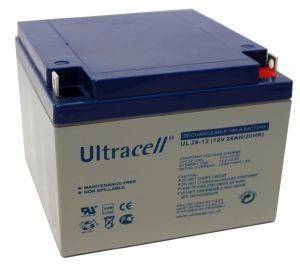 ULTRACELL UL26-12 12V/26AH REPLACEMENT BATTERY