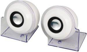 LOGILINK SP0007 2.0 STEREO SPEAKER USB POWERED WHITE