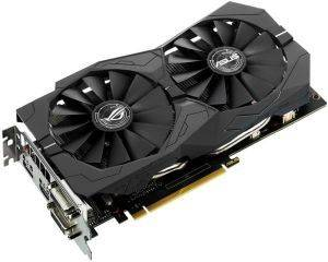 VGA ASUS GEFORCE GTX1050 TI STRIX-GTX1050TI-O4G-GAMING 4GB GDDR5 PCI-E RETAIL