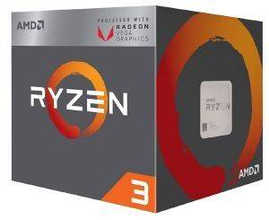 CPU AMD RYZEN 3 2200G 3.70GHZ 4-CORE WITH WRAITH STEALTH BOX