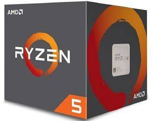 CPU AMD RYZEN 5 1500X 3.70GHZ 4-CORE WITH WRAITH SPIRE BOX