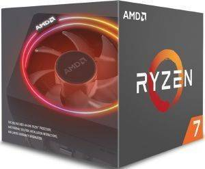 CPU AMD RYZEN 7 2700X 4.35GHZ 8-CORE WITH WRAITH PRISM BOX