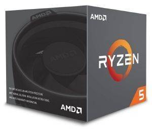 CPU AMD RYZEN 5 2600X 4.25GHZ 6-CORE WITH WRAITH SPIRE BOX