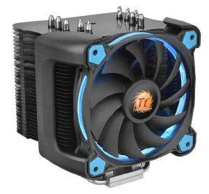 THERMALTAKE RIING SILENT 12 PRO BLUE CPU COOLER 120MM