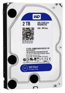 HDD WESTERN DIGITAL WD20EZRZ 2TB BLUE SATA3