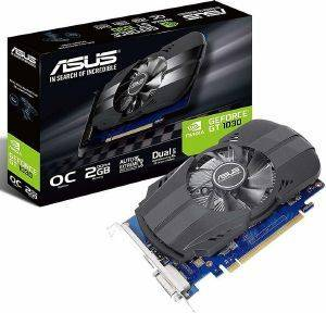 VGA ASUS PHOENIX GEFORCE GT1030 OC EDITION PH-GT1030-O2G 2GB GDDR5 PCI-E RETAIL