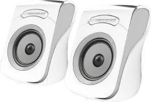 ESPERANZA EP140WE FLAMENCO 2.0 USB STEREO SPEAKERS WHITE/GREY