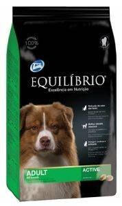 ΤΡΟΦΗ ΣΚΥΛΟΥ EQUILIBRIO ADULT ACTIVE ALL BREEDS 2KG