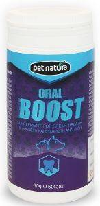 ΒΙΤΑΜΙΝΕΣ PET NATURA ORAL BOOST 60GR