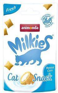 SNACK ΓΑΤΑΣ ANIMONDA MILKIES CRUNCHY PILLOW FRESH 30GR