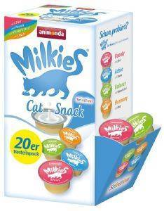 SNACK ΓΑΤΑΣ ANIMONDA MILKIES SELECTION BOX 15GR